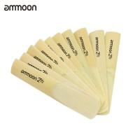 Lucu Ammoon 10Pcs BB Soprano Saxophone Sax 2.5 2-1 / 2 Bambu