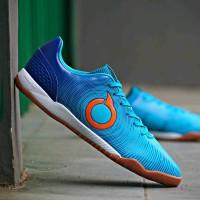 Sepatu Futsal Ortuseight Catalyst Oracle In Pale Cyan Vortex Blue Or