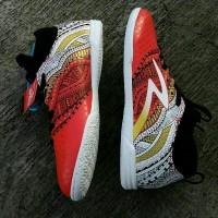 Sepatu Futsal Specs Heritage IN Emperor Red Black White Original Pro