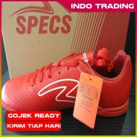 Sepatu Futsal Specs Barricada Guardian In Emperor Red White Original