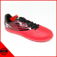 Sepatu Futsal Specs Barricada Genoa Red Black White Original