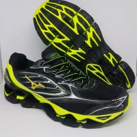 Sepatu Volly Mizuno Wave Prophecy 6 Black Yellow Murah OLH2
