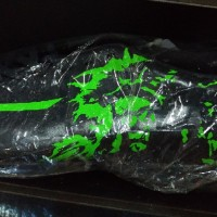 Sepatu Futsal Mizuno RYUOU Black Green Original