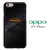 Casing OPPO F3 PLUS Star Wars Black and Red S0117
