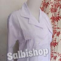 kemeja putih PNS baju PDH wanita kerah blus