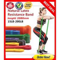 Resistance Band / Karet Elastis Yoga / Fitness / Gym ( 14 x 4.5 mm )