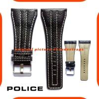 38mm Tali Jam Tangan Kulit Police Strap Genuine Leather