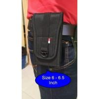 Tas Pinggang Tactical Waist Belt Dompet Hape army Kanvas 6 inch
