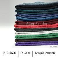 BIG SIZE - Kaos Polos Misty / Twotone 30s