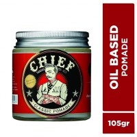 CHIEF POMADE OIL BASED 105GR GLASS JAR
