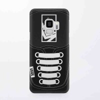 Hard Case Casing Black Vans Shoes For Samsung Galaxy S9
