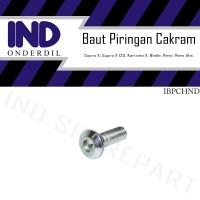 Baut-Baud Piringan Cakram Honda Supra X/Vario/Beat/Scoopy/Revo/Blade