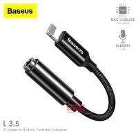 Baseus Aux Audio Adapter iPhone Lightning to 3.5mm Jack Earphone OTG