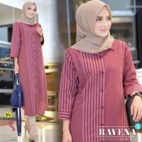 Baju Atasan Wanita Blouse Muslim Ravena #2 Tunik Shofiya