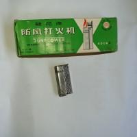 KOREK API Lighter jadul vintage SUNFLOER 6506