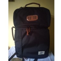 Eiger 1989 Portmant Lite Trilogic Laptop Backpack 20L - Black
