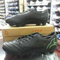 Sepatu Bola OrtusEight Utopia Black/Fluo Green