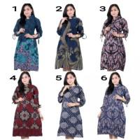 Baju Batik Wanita Tunik Jumbo Size XXL (ld 120)