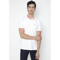 Jack Nicklaus Cevory Polo Shirt Pria Regular Fit Putih