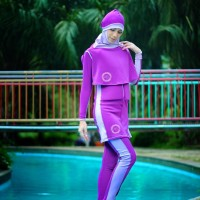 Terbaik Pakaian Renang Ngapung DEWASA SafeSwim M2D HIJAB UT