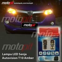 Autovision LED T10 W5W Amber AT10KC38 Lampu Senja Mobil Motor Terang