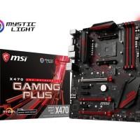 Baru MSI X470 Gaming Plus - AM4 - AMD Promontory X470 - DDR4 - USB3.1
