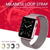 Terbaru (-boss ) Milanese Strap Loop Magnetik 22mm untuk Apple