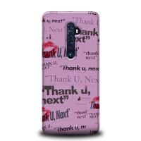 Hardcase HP Oppo Reno 2 Thank You Next Ariana Grande L2723