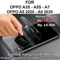 Skin aurora Oppo A3s - A5s - A7 - A5 2020 - A9 2020 garskin anti gores