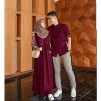 Farel couple / baju gamis set