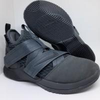 Sepatu Basket Nike Lebron 12 Soldier Black Man Murah