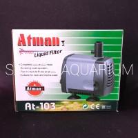 ATMAN 103 / 25 watt / 1,2 meter / 1300Lt/H / Pompa Air / AT 103