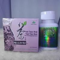 PAKET PELANGSING/DIET/SLIMMING CAPSULE + PROSLIM TEA GREEN WORLD