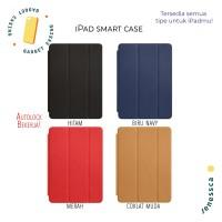 iPad Mini 1 / 2 / 3 / 4 Apple Smart Case OEM FREE TEMPERED GLASS - Merah, Mini 4
