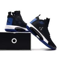 Sepatu Basket Nike Air Jordan 34 Black Royal Blue Premium Original