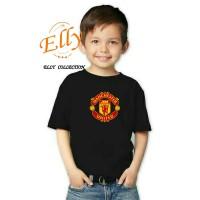 t-shirt kaos anak manchester united - import quality