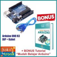 Arduino UNO R3 ATmega328 DIP + Kabel USB + Bonus