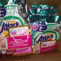 Attack detergen plus softener 800g