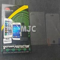 Cameron Anti Gores iPhone 5 5s SE Depan Belakang Matte Glare Doff