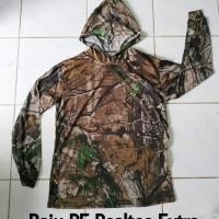 Baju Kaos camo Berburu Realtree Lengan Panjang Kamuflase