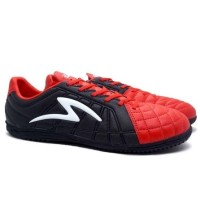 Sepatu Futsal Specs Barricada Kaze IN Emperor Red/Black/White