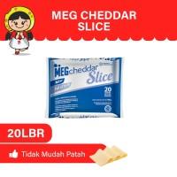 MEG Cheddar Slice 20 slices