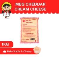 MEG Cheddar Cream Keju 1 Kg