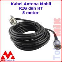 KABEL RG-58 RG58 ANTENA MOBIL RIG HT 5 METER