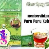 Promo Clear Lung Tea Green World | Menghilangkan Kecanduan Rokok |