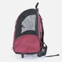 Terlaris Pe117 Troli Backpack Hewan Anjing Kucing Travel Pet Stroller