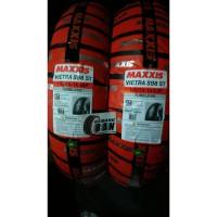 paket ban luar maxxis victra uk 100 / 80 -14 dan 120 / 70 -14 PCX