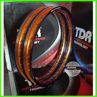 velg tdr wx shape two 17 ring x tone set