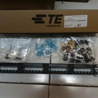 Amp Tyco Electronics 24 Port Category 5e Sl Series Patch Panel Load