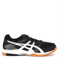 Sepatu Original Asics Gel Rocket 8 - Black White